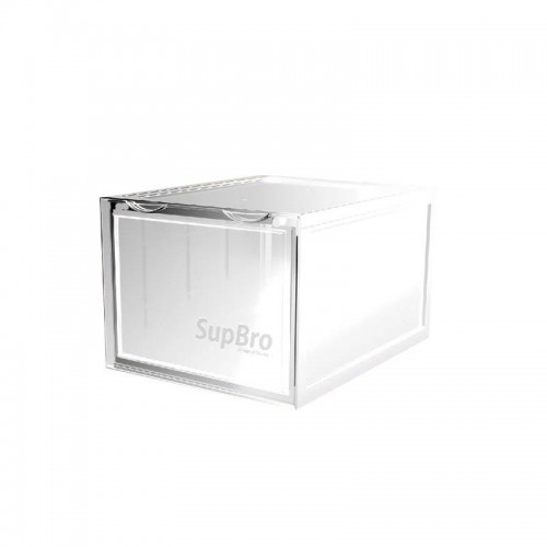 SupBro Sneaker Storage Boxes Set of 2 - Transparent