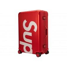 Supreme x RIMOWA 2 luggage bag 82L