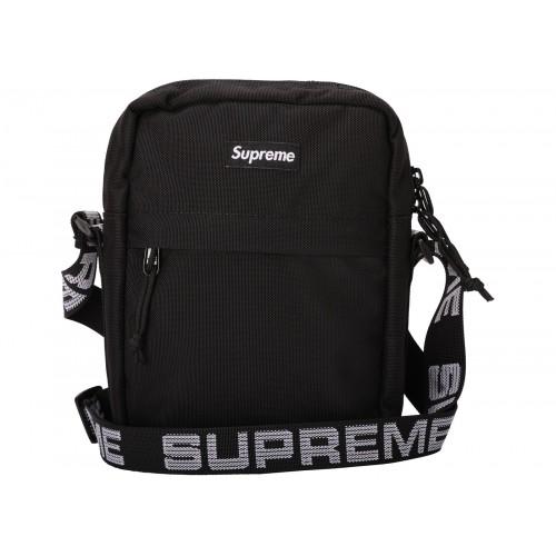 Supreme Shoulder Bag Black Cordura SS18