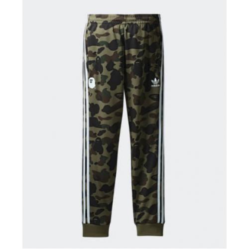 Adidas X Bape Track Pants Green
