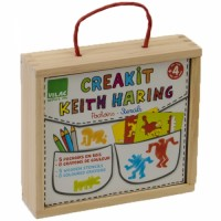 Keith Haring Creakit Stencils Set