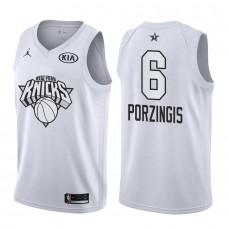 2018 All Star Jersey Knicks Kristaps Porzingis