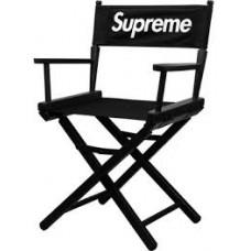 Supreme Director Chair Black SS19