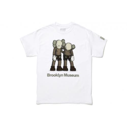 KAWS Brooklyn Museum ALONG THE WAY T-shirt White