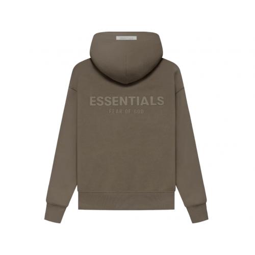 FOG Essentials Pullover Hoodie Brown