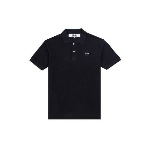 COMME Des GARCONS Polo Shirt Black