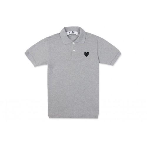 COMME Des GARCONS Polo Shirt Gray