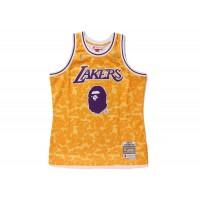 BAPE x Mitchell & Ness La Lakers