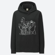 Uniqlo Kaws X Sesame Street Family Hoodie