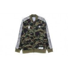 Adidas Bape Track Top Green
