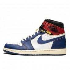 4a3f4aa3f516 Air Jordan 1 Retro Union LA Blue Toe