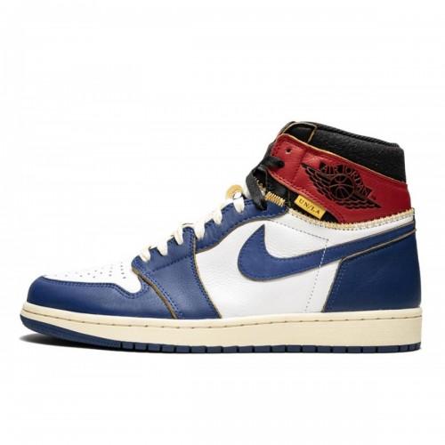 5ed72ad9956005 Air Jordan 1 Retro Union LA Blue Toe by Youbetterfly