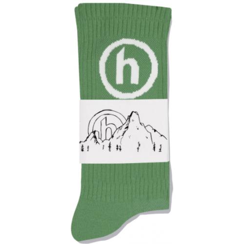 Hidden NY Crew Socks Light Green