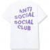 Anti Social Social Club Maniac Tee White