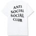 Anti Social Social Club Hello Goodbye Tee White