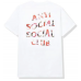 Anti Social Social Club Bed Tee White