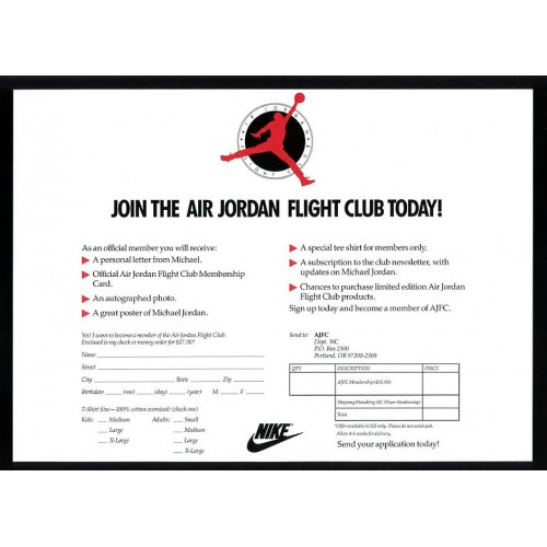 purchase cheap f4b78 9876b Air Jordan Flight Club Calendar 1991