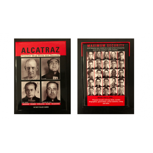 Alcatraz Prisoner Cards: Mug Shots and Records