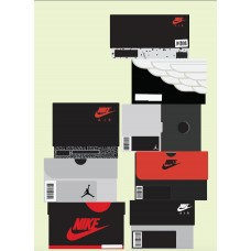Jordan Boxes Customized Poster