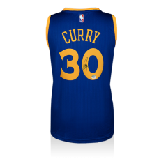 Steph Curry Signed Jersey - Warriors