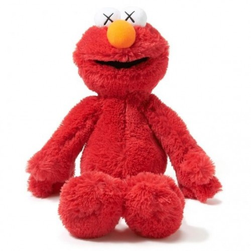Kaws x Uniqlo Elmo Plush