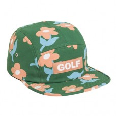 Golf find some time camp hat green