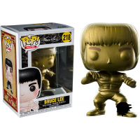 Funko Pop Bruce Lee Limited Gold