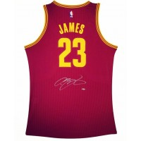 look for b2be6 4e246 Lebron James Signed Jersey - CAVS by Youbetterfly