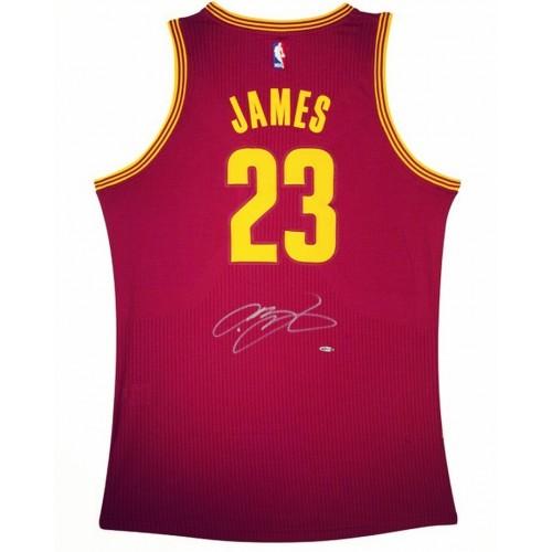 Lebron James Signed Jersey - CAVS