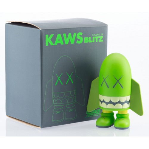KAWS Blitz Green Signed by KAWS