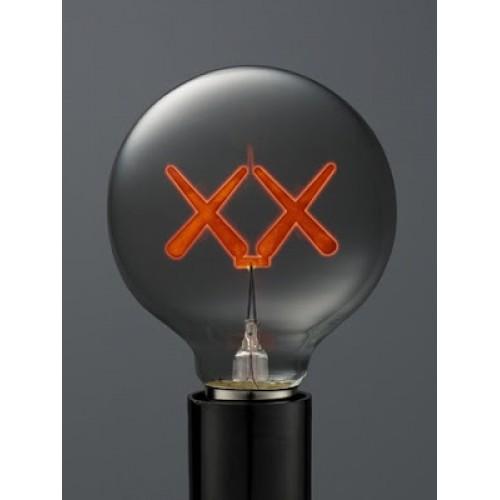 KAWS Signature Red Light Bulb - Standard Hotel