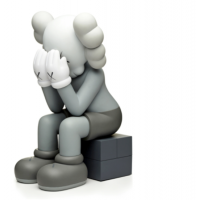 KAWS Passing Through Grey