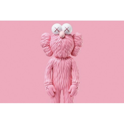 KAWS BFF Pink Edition