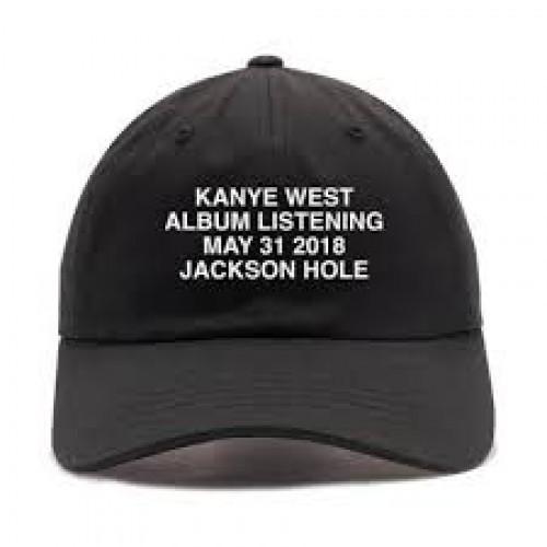 Ye album listening party hat - Wyoming
