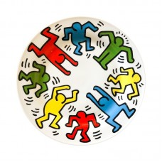 Keith Haring Porcelain Rare Plates
