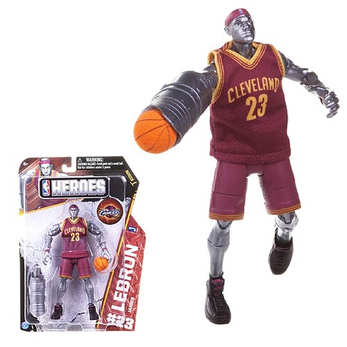 Lebron James- Cleveland Cavaliers NBA Hero