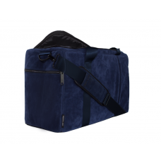 Private Label Midnight Blue Suede Duffle