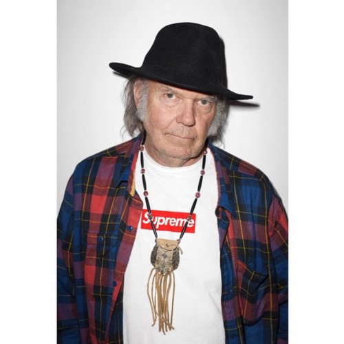 Supreme x Neil Young original poster