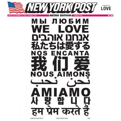 New York Post We Got Love - Kanye