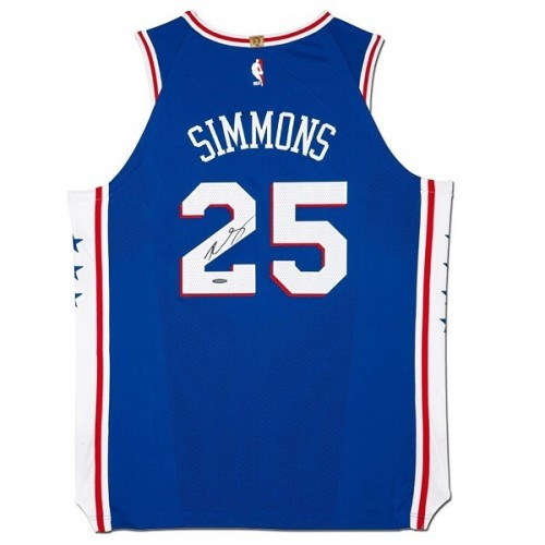 Ben Simmons Signed Jersey - 76ers