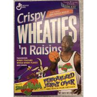 Vintage Wheaties Michael Jordan Space Jam Cereal Box