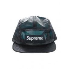 Supreme Coated Linen Camp Cap