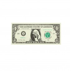Supreme Dollar Bill Sticker