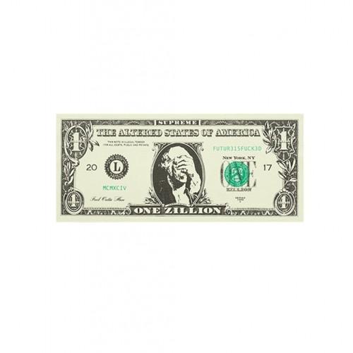 Supreme Dollar Bill Sticker