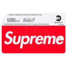 Supreme Metro Card MTA ss17