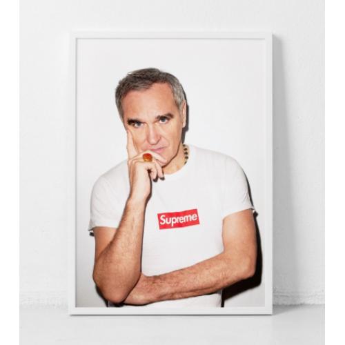 Supreme x Morrissey Original Poster