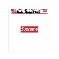 Supreme x New York Post Magazine Cover