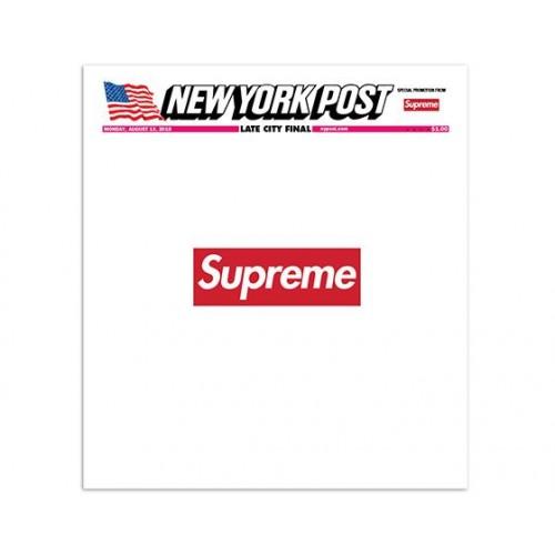 Supreme x New York Post Magazine Cover