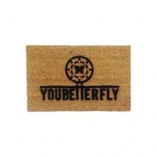 youbetterfly graffiti doormat