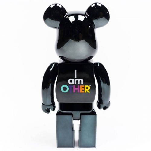 I AM OTHER BEARBRICK BY PHARELL WILLIAMS - Black 400%